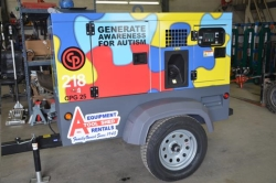 Where to rent 20 KW SILENCED TOWABLE GENERATOR in Campbell CA