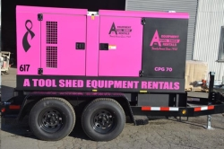 Where to rent 70 KW SILENCED TOWABLE GENERATOR in Campbell CA