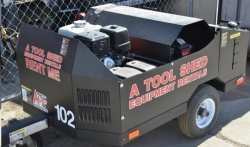 Rental store for 4000 PSI HOT PRESSURE WASHER w  TRAILER in San Jose CA