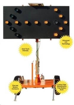 Rental store for SOLAR FLASHING ARROW BOARD, TOWABLE in San Jose CA