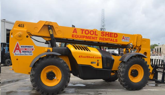 40 Foot High 4x4 Telehandler Reach Forklift Rentals San