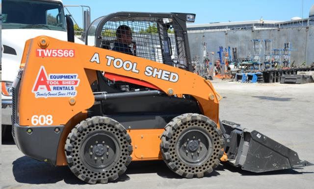 Where to find SKID STEER TRACTOR LOADER, 60  WIDE in Campbell