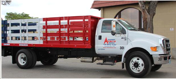 20 Foot Flatbed Truck With Lift Gate Rentals Campbell Ca