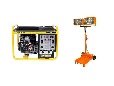Generator and Lighting Equipment Rentals in San Jose, CA