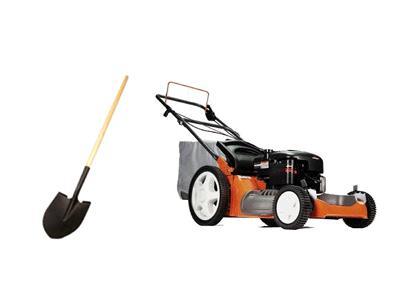 Lawn & garden - mower- tiller & branch chipper rentals San
