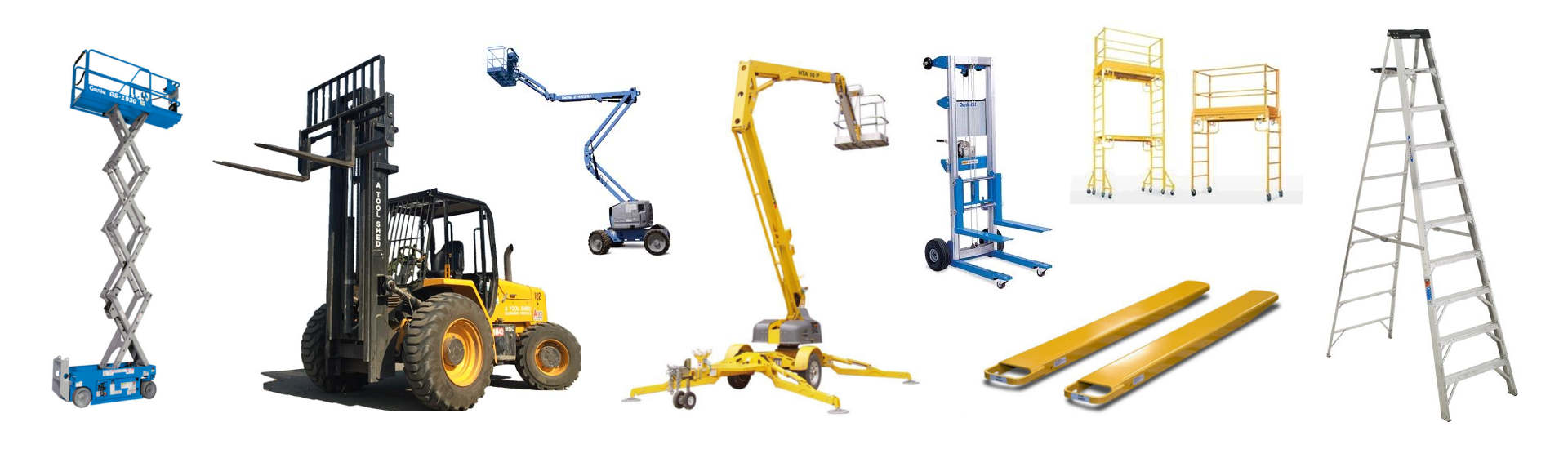Homeowner Equipment Rentals in Santa Clara County, Santa Cruz County, Monterey Bay & the Silicon Valley