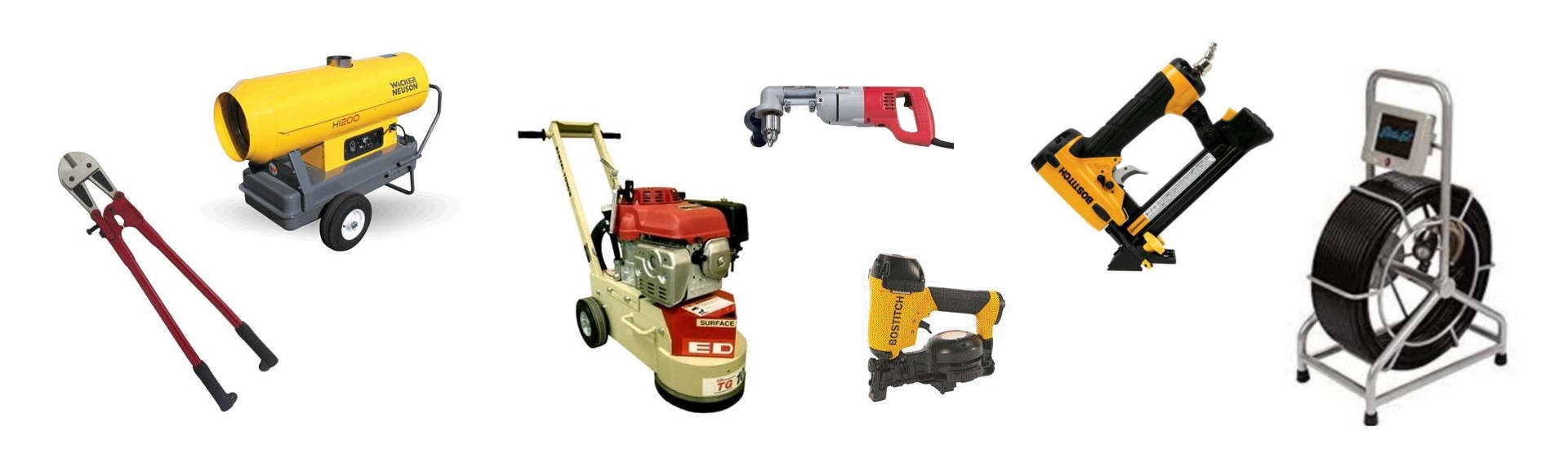 Contractor Equipment Rentals in Santa Clara County, Santa Cruz County, Monterey Bay & the Silicon Valley